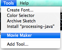 MovieMakerを作成